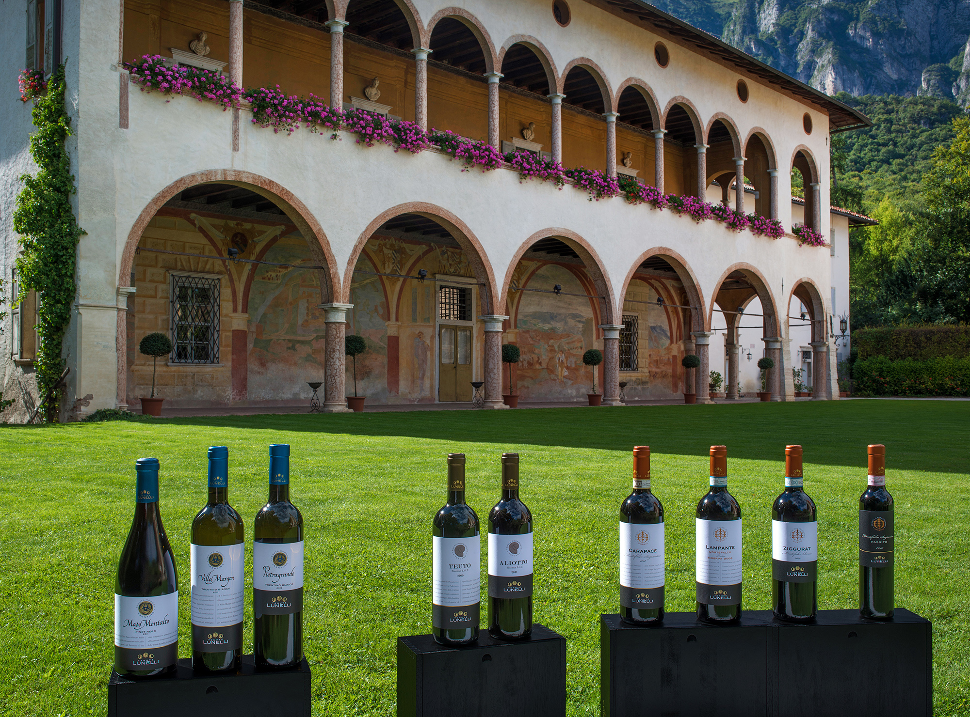 Tenute Lunelli wines for 56 European and Asian heads of state at Asem Summit